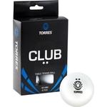 Купить Мяч для настольного тенниса Torres Club 2 звезды (TT0014) 6 шт. отзывы покупателей специалистов владельцев