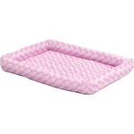 "Лежанка Midwest Quiet Time Fashion Pet Bed - Pink 22""плюшевая 56х33 см розовая для кошек и собак"