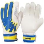 Купить Перчатки вратарские Torres Jr (FG05026-BU) р.6 купить недорого низкая цена