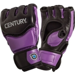 Купить Перчатки Century тренировочные женские (black/purple) 141016P M купить недорого низкая цена