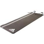 Купить Тренировочный коврик Adidas (мат) для фитнеса Elite (белый логотип) ADMT-12236WH купить недорого низкая цена