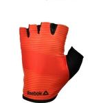 Купить Тренировочные перчатки Reebok RAGB-11234RD (без пальцев) красные р. S купить недорого низкая цена