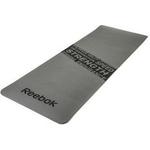 Купить Тренировочный коврик Reebok RAMT-11024GRS (мат) для фитнеса нескользящий (серый) купить недорого низкая цена