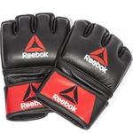 Купить Перчатки Reebok для MMA Combat Leather Glove - Small (RSCB-10310RDBK) купить недорого низкая цена