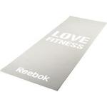 Купить Тренировочный коврик Reebok RAMT-11024GRL (мат) для фитнеса тонкий Love (серый) купить недорого низкая цена
