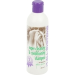 Шампунь 1 All Systems Super Cleaning & Conditioning Shampoo суперочищающий для кошек и собак 250мл