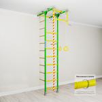 Купить Детский спортивный комплекс Romana Kometa 1 (ДСКМ-2-8.06.Т.490.18-08) зелёное яблокотехнические характеристики фото габариты размеры