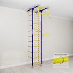 Купить Детский спортивный комплекс Romana Kometa 1 (ДСКМ-2-8.06.Т.490.18-08) синяя сливатехнические характеристики фото габариты размеры