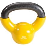 Купить Гиря Body Solid 2,3 кг (5lb) обрезиненная желтая KBV(KVC)5 купить недорого низкая цена