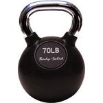 Купить Гиря Body Solid 31,8 кг (70lb) с хромированной ручкой KBC70 отзывы покупателей специалистов владельцев