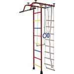 Купить Детский спортивный комплекс Крепыш плюс (02454) Т ПВХ бордовый купить недорого низкая цена
