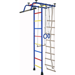Купить Детский спортивный комплекс Крепыш плюс (02453) Т ПВХ синий купить недорого низкая цена