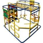 Купить Детский спортивный комплекс Формула здоровья Мурзилка S синий- радуга купить недорого низкая цена
