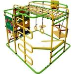 Купить Детский спортивный комплекс Формула здоровья Мурзилка S салатовый- радугатехнические характеристики фото габариты размеры