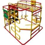Купить Детский спортивный комплекс Формула здоровья Мурзилка S красный- радуга купить недорого низкая цена