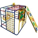 Купить Детский спортивный комплекс Формула здоровья Кубик У Плюс синий- радугатехнические характеристики фото габариты размеры