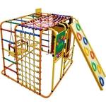 Купить Детский спортивный комплекс Формула здоровья Кубик У Плюс оранжевый- радуга купить недорого низкая цена