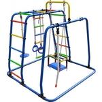 Купить Детский спортивный комплекс Формула здоровья Игрунок Т Плюс синий- радугатехнические характеристики фото габариты размеры