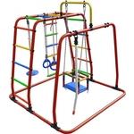 Купить Детский спортивный комплекс Формула здоровья Игрунок Т Плюс оранжевый- радугатехнические характеристики фото габариты размеры