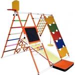 Купить Детский спортивный комплекс Формула здоровья Вершинка W Плюс оранжевый- радугатехнические характеристики фото габариты размеры