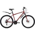 Купить Велосипед Stark 18 Respect 26.1 D тёмно-коричневый- бежевый- чёрный 18