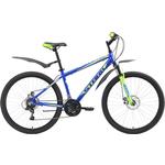 Купить Велосипед Stark 18 Respect 26.1 D синий- зелёный- голубой 20