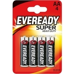 Батарейка ENERGIZER солевая Eveready Super Heavy Duty тип АА 4шт
