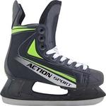 Купить Коньки Action PW-434 хоккейные р. 45 купить недорого низкая цена