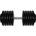 Купить Гантель MB Barbell Профи 58,5 кг купить недорого низкая цена