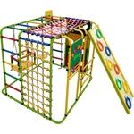 Купить Детский спортивный комплекс Формула здоровья Кубик У Плюс салатовый/радуга купить недорого низкая цена