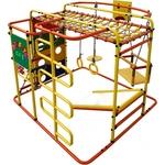 Купить Детский спортивный комплекс Формула здоровья Мурзилка S оранжевый/радугатехнические характеристики фото габариты размеры