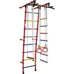 Купить Детский спортивный комплекс Формула здоровья Стелла-1С Плюс красный/радуга купить недорого низкая цена