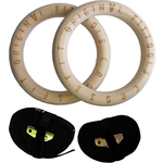 Купить Кольца гимнастические Original Fit.Tools 23.5 см купить недорого низкая цена