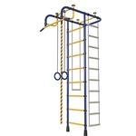 Купить Детский спортивный комплекс Пионер М (синий/жёлтый) купить недорого низкая цена