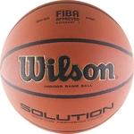 Купить Мяч баскетбольный Wilson Solution (WTP000265) р.7 FIBA Approved VTB24 купить недорого низкая цена