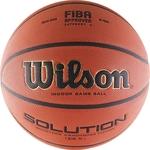 Купить Мяч баскетбольный Wilson Solution (B0686X) р.6 FIBA Approvedтехнические характеристики фото габариты размеры