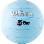 Купить Мяч волейбольный Wilson Soft Play (WTH3501XBLU) р.5 отзывы покупателей специалистов владельцев