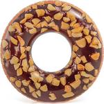 Купить Надувной круг Intex Пончик шоколад 114 см (56262) купить недорого низкая цена