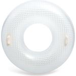 Купить Надувной круг Intex с ручками Кристалл 114 см (56264) купить недорого низкая цена