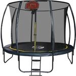 Купить Батут Sport Elite 12FT 3,66м с защитной сеткой (внутрь) лестницей CFR-12FT-4 отзывы покупателей специалистов владельцев