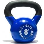 Купить Гиря Original Fit.Tools 8 кг обрезиненная синяя