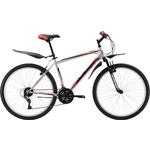 Купить Велосипед Challenger Agent Lux 26 серебристо-красный 18'' отзывы покупателей специалистов владельцев