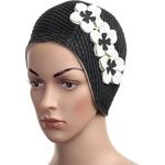 Купить Шапочка для плавания Fashy Babble Cap with Flowers 3119-20 купить недорого низкая цена