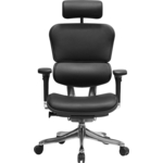 Кресло эргономичное Comfort Seating Group EHPE-AB-HAL LE2095 leather ergohuman plus elite black