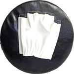 Купить Лапа RealSport боксерская круглая (28267030) купить недорого низкая цена