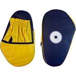 Купить Лапа RealSport боксерская малая (искуственная кожа) пара L-2 купить недорого низкая цена