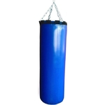 Купить Мешок боксерский 140 см d-40 70 кг (кольцо цепь) тент купить недорого низкая цена