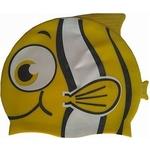 Купить Шапочка для плавания Dobest силиконовая Рыбка YS30 (желтая)технические характеристики фото габариты размеры