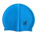 Купить Шапочка для плавания Dobest силиконовая SH20 (голубая) купить недорого низкая цена