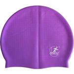 Купить Шапочка для плавания Dobest силиконовая массажная XA10 (фиолетовая) купить недорого низкая цена